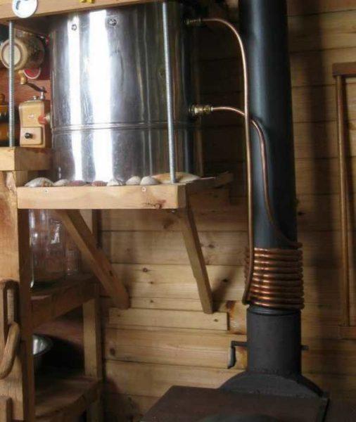 Теплообменник для банной печи на трубу купить Кожухотрубный испаритель Alfa Laval DH1-191 Самара