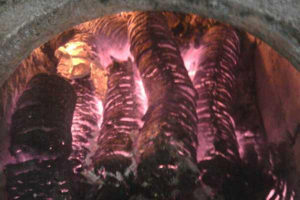 Топливные брикеты из лузги. Горят долго и выделяют много тепла