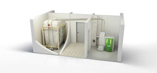 Бункер для хранения пеллет может быть металлическим, пластиковым, деревянным, из ткани, это может быть целое помещение