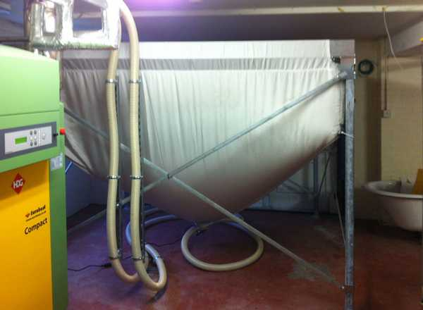 Конструкции бункеров для пеллет могут быть различными