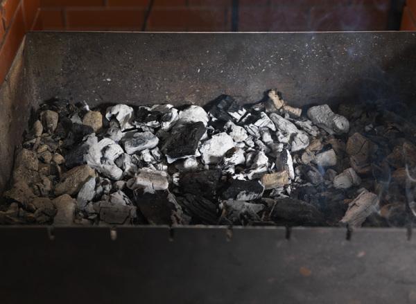 Как разжечь древесный уголь? При помощи бумаги и тонких щепок или...строительного фена