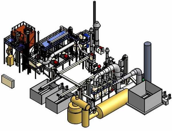 Мини-завод для производства пеллет