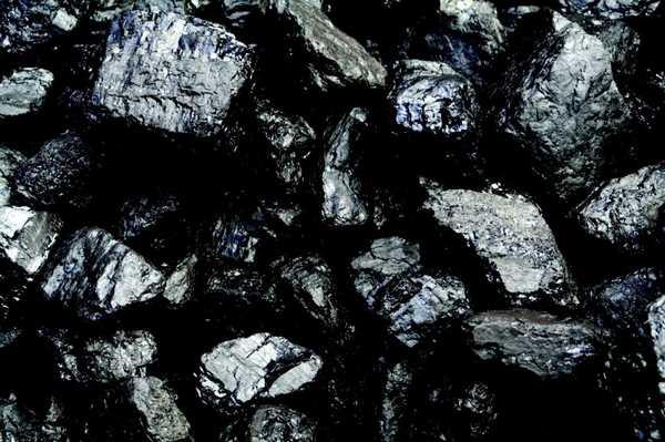 Антрацит. Отличается глубоким черным цветом и блестящей поверхностью.