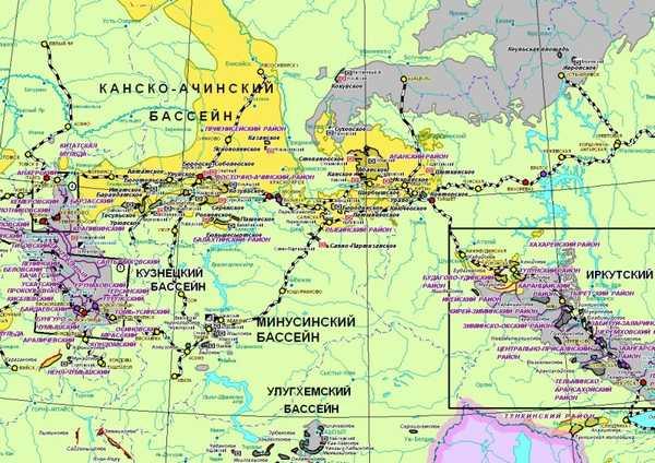 каменный уголь в россииМесторождений каменного угля в России расположены в различных регионах