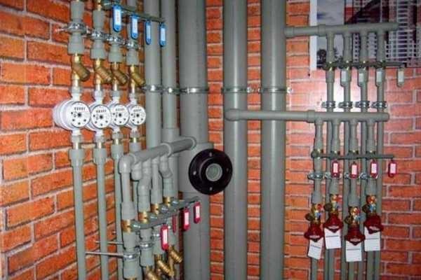 PPR трубы используются в системах отопления, горячего и холодного водоснабжения