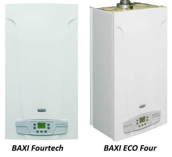 """Котлы """"Бакси"""" Fourtech  и ECO Four"""