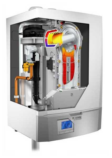 Внутренне устройство конденсационных котлов отопления