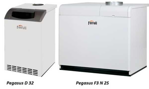 Напольные газовые котлы Ferroli Pegasus