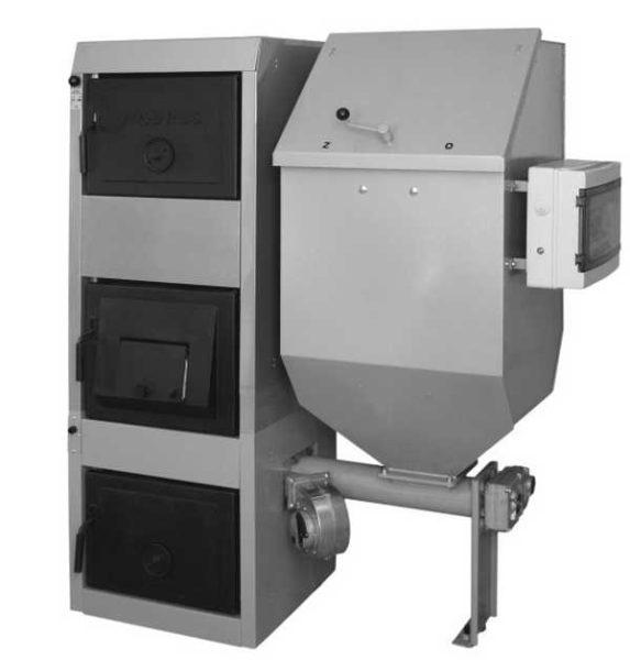 Твердотопливный котел с автоматизированной подачей топлива Viadrus Hercules DUO