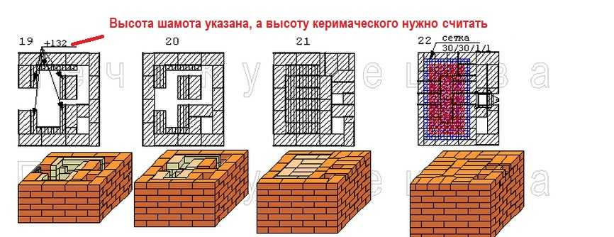 печи Кузнецова с меткой