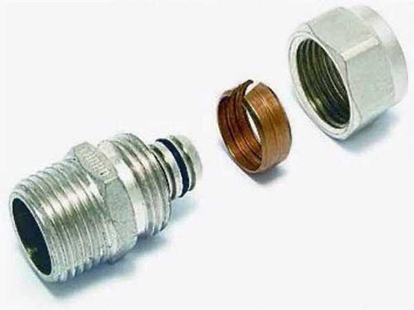 Компрессионные фитинги для металлопластика