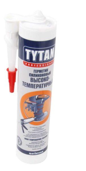 Жаростойкий герметик в тубе Tytan