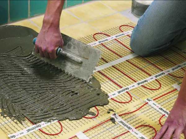 Для всех напольных покрытий кроме плитки нужна стяжка