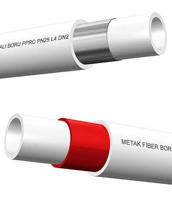 Полипропиленовые трубы армируют фольгой или стекловолокном