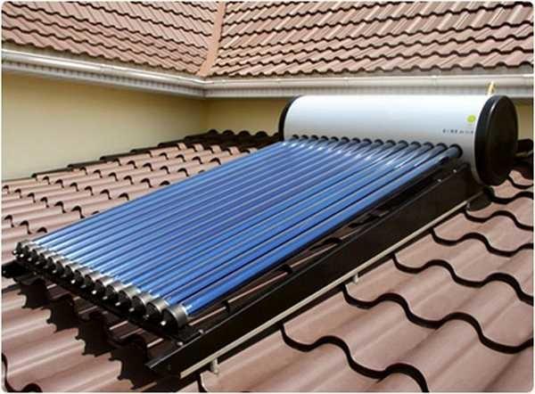 Альтернативное отопление частного дома - использование солнечной энергии параллельно с котлом