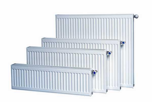 Стальные панельные радиаторы имеют разные размеры и мощность