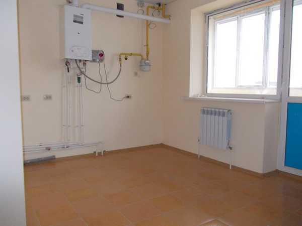 Пример подключения настенного газового котла в квартире