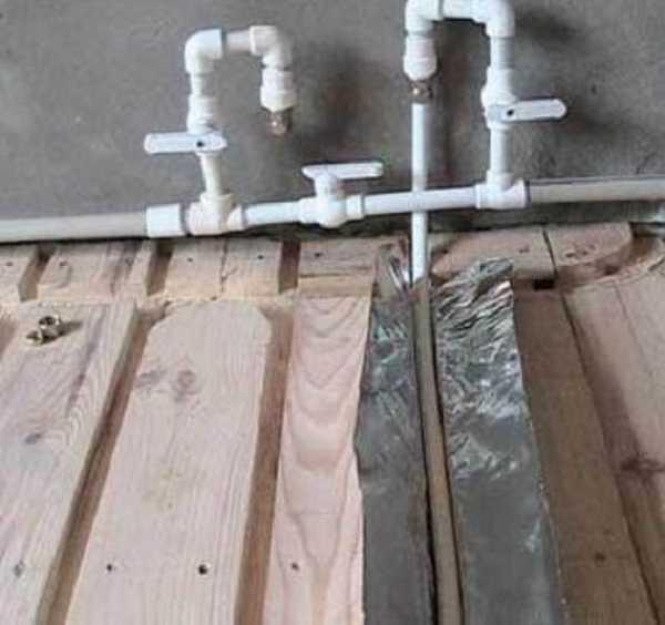 Как сделать тёплый пол в ванной от отопления