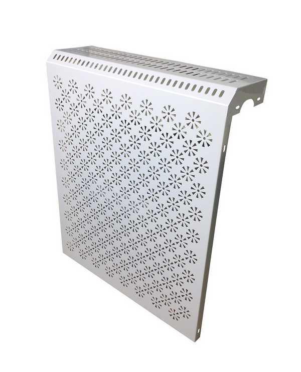 Самый простой навесной экран из металла
