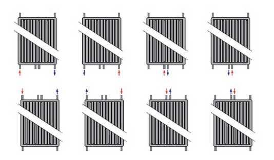 Как подключить вертикальный панельный радиатор Purmo Vertical