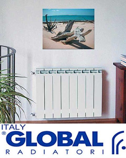 """Итальянские радиаторы отопления """"Глобал"""""""