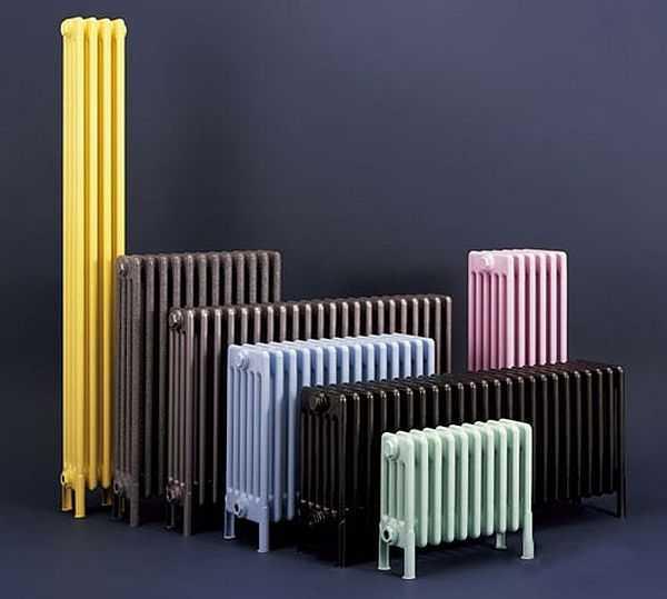 Heated towel rails for bathrooms