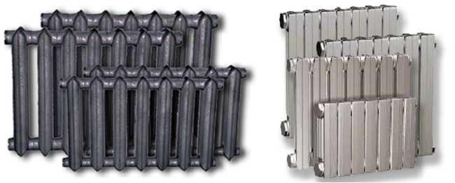 На смену старым радиаторам из чугуна приходя новые модели в современном стиле