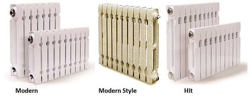 Чугунные радиаторы в современном стиле