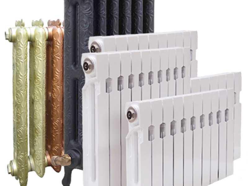 Коннер выпускает чугунные, алюминиевые и биметаллические батареи
