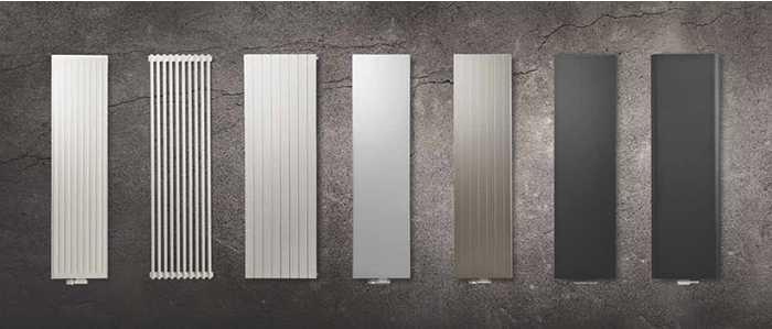 Вертикальные радиаторы от Purmo — не скажешь что это батареи