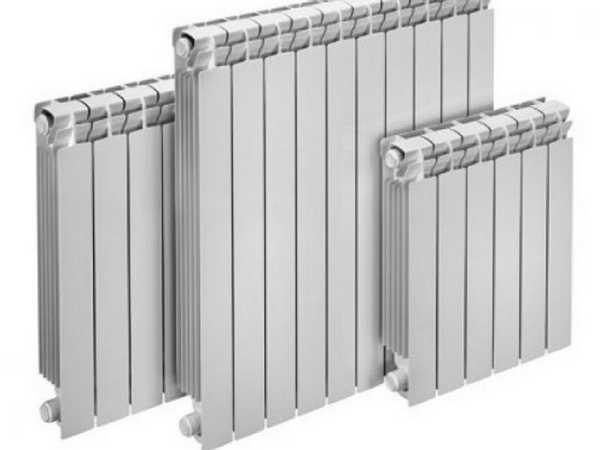 Алюминиевые радиаторы имеют массу достоинств