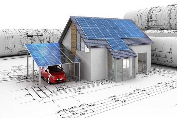 Для полного обеспечения электроэнергией одной крыши будет недостаточно