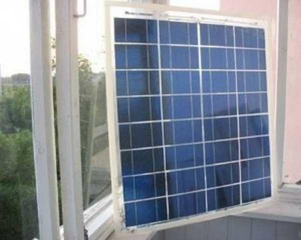 В квартире есть только одно место для установки солнечной батареи — на окне