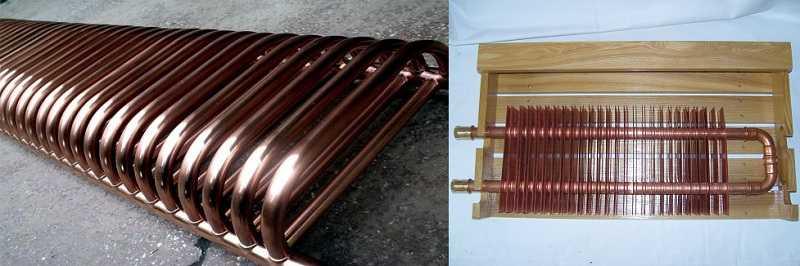 Медные радиаторы имеют очень высокую теплоотдачу, но стоят дорого
