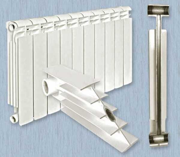 Биметаллический радиатор из стали и алюминия имеет неплохую теплоотдачу