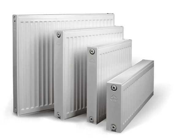 Мощность панельного радиатора зависит от его типа и габаритов