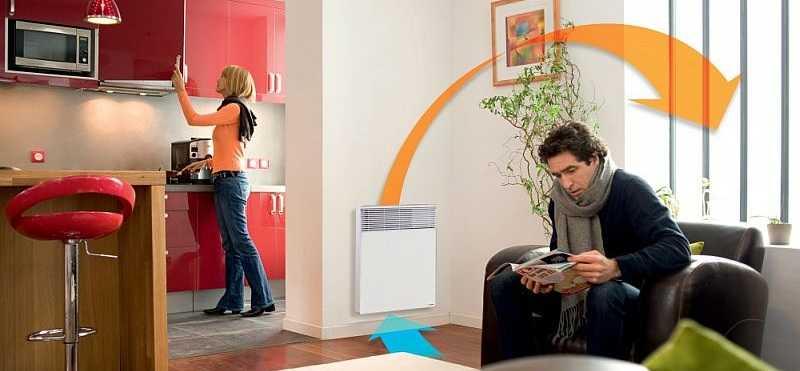 Достоинства - бесшумная работа и относительно быстры нагрев помещения