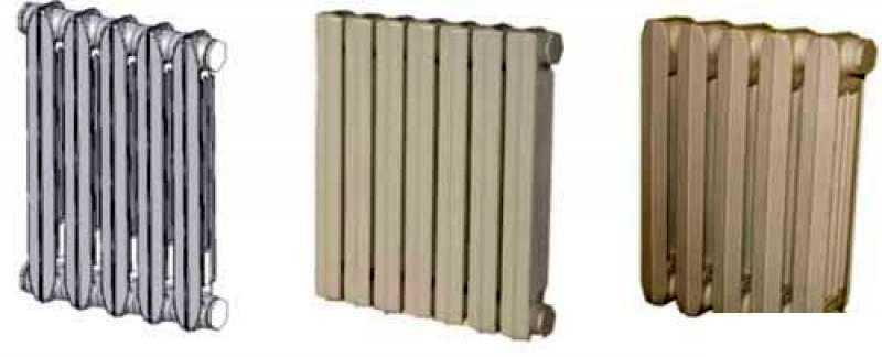 Чугунные радиаторы сегодня есть и в современном стиле