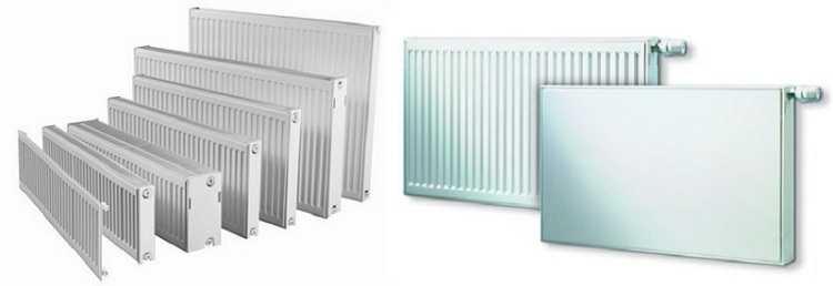 Разнообразием форм панельные радиаторы похвастаться не могут: только прямоугольники, да рифленая и гладкая поверхность