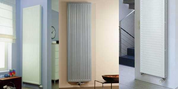 Стальные панельные вертикальные радиаторы не могут порадовать разнообразием форм