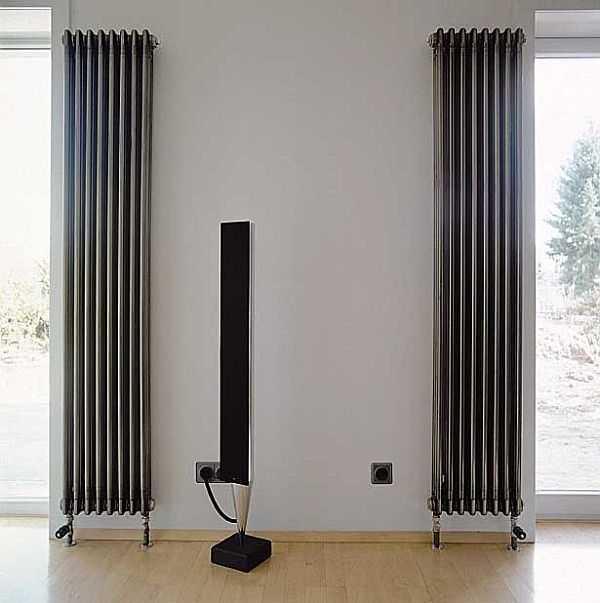 Это трубчатый высокий радиатор Zehnder Charleston