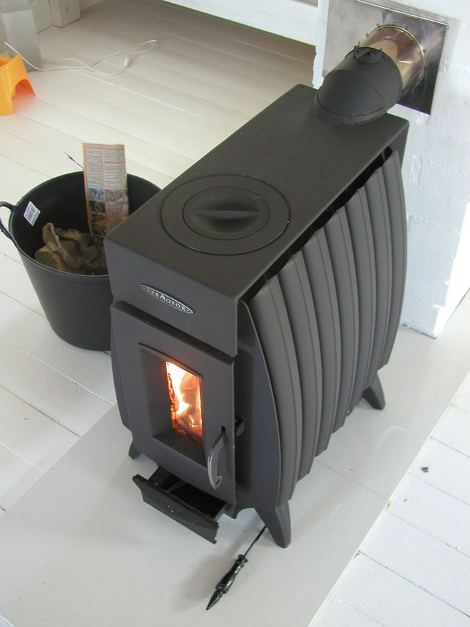 Печь огонь батарея фото в интерьере