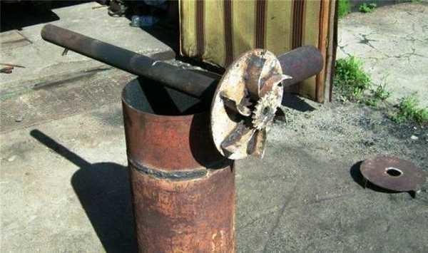 Вариант самодельного котла из газового баллона - одна из модификаций Бубафони