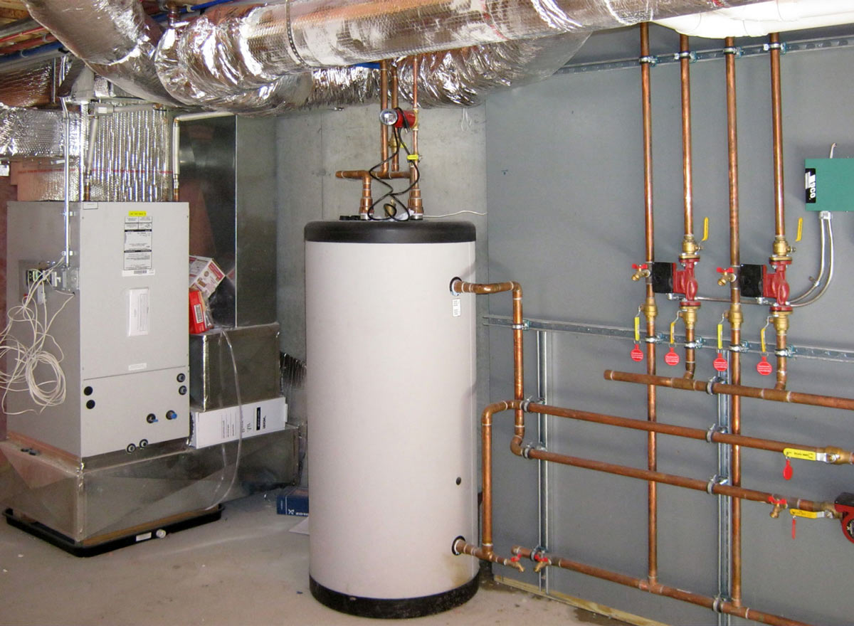 Пиролизный котел (газогенератор) с бойлером косвенного нагрева