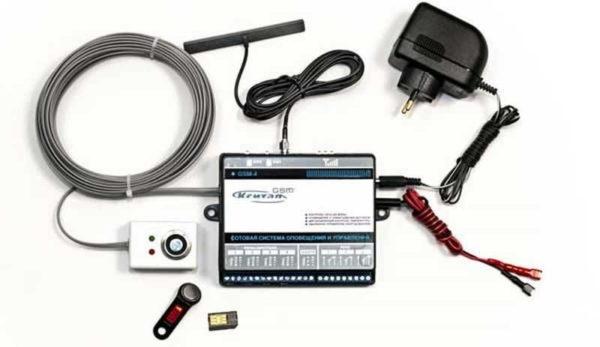 В систему дистанционного контроля входят датчики температуры, запорно-регулирующая арматура