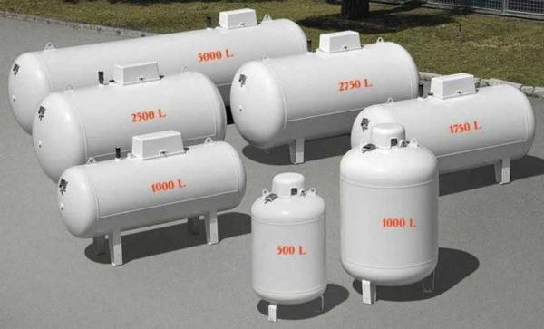 Более точно можно рассчитать объем газгольдера по мощности отопительного котла