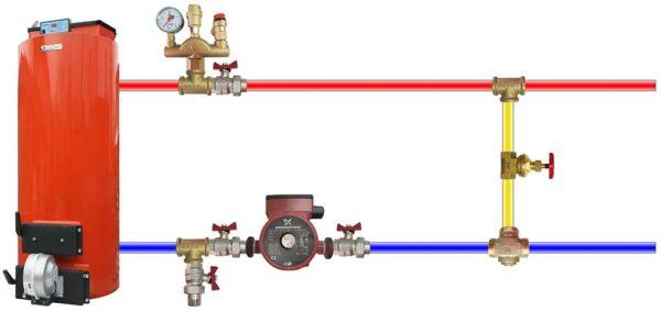 Где установить клапан сброса избыточного давления