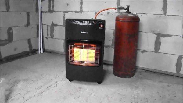 Одна из моделей газовых инфракрасных обогревателей. Есть еще потолочные модели и настенные