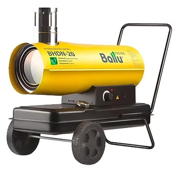 Дизельная пушка непрямого нагрева Ballu BHDN-20 (20 кВт)