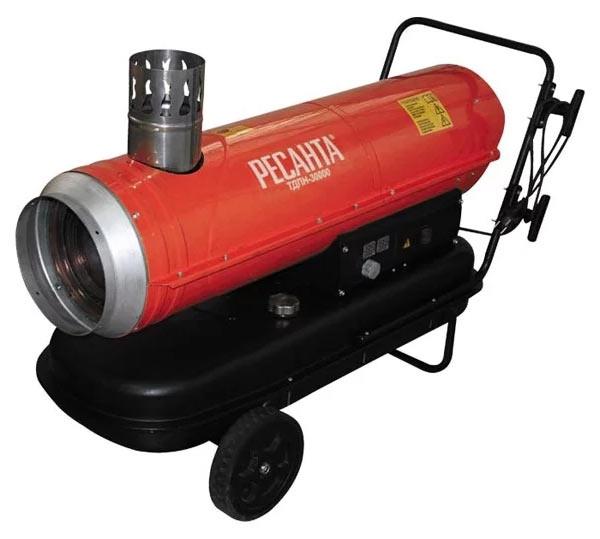 Дизельная пушка непрямого нагрева РЕСАНТА ТДПН-30000 (30 кВт)